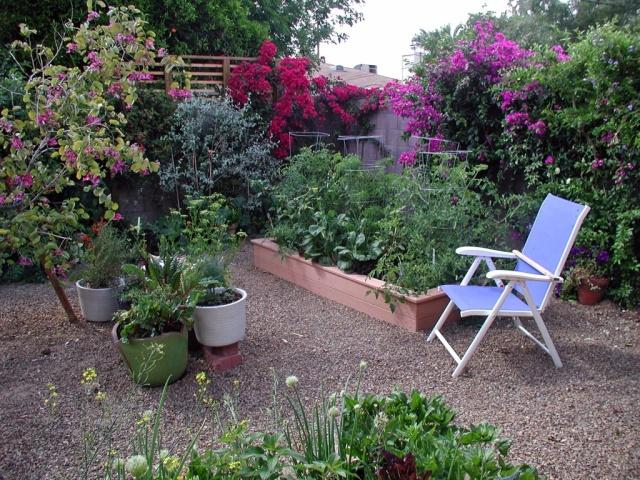 Organic gardening with nature.